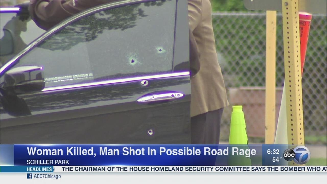 Woman killed in possible road rage