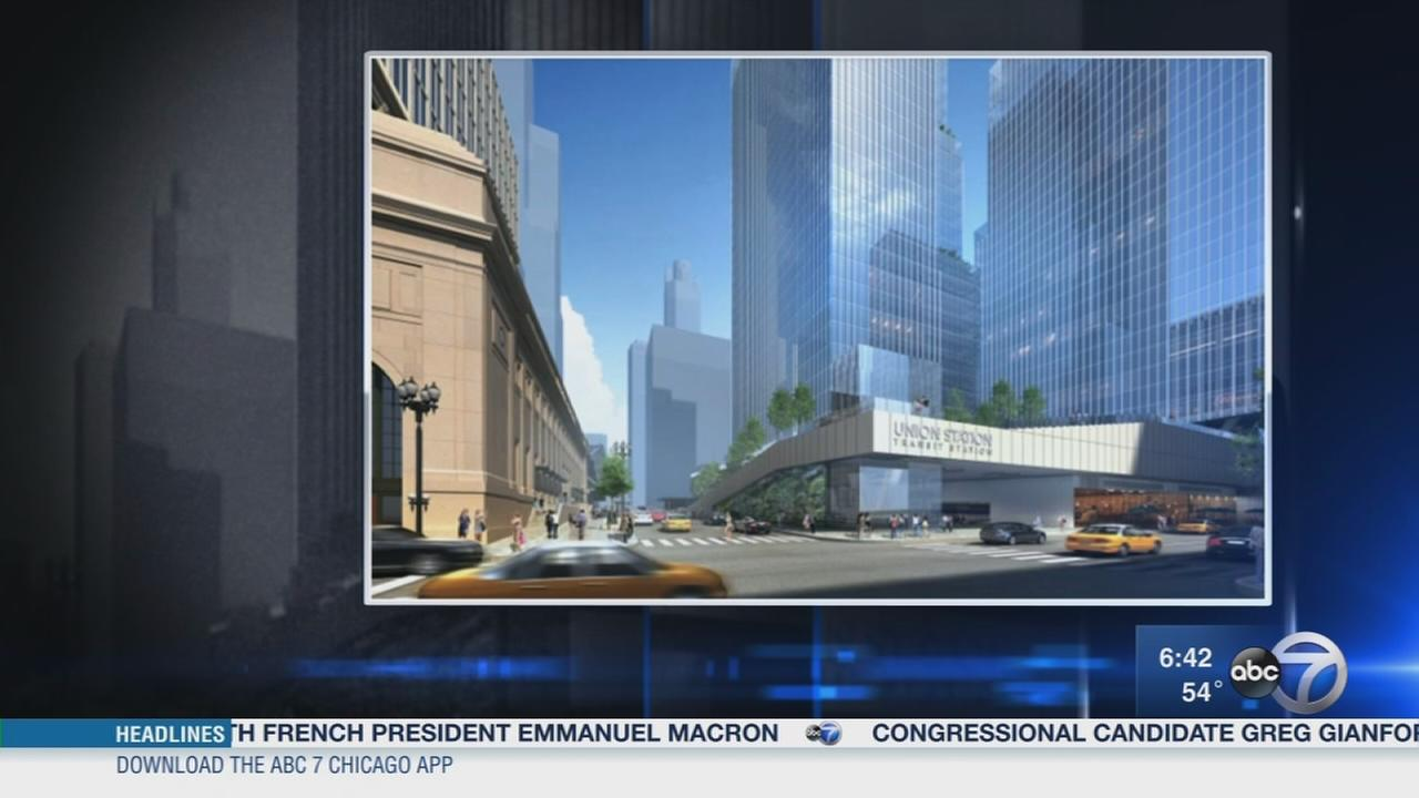 Union Station area to get makeover