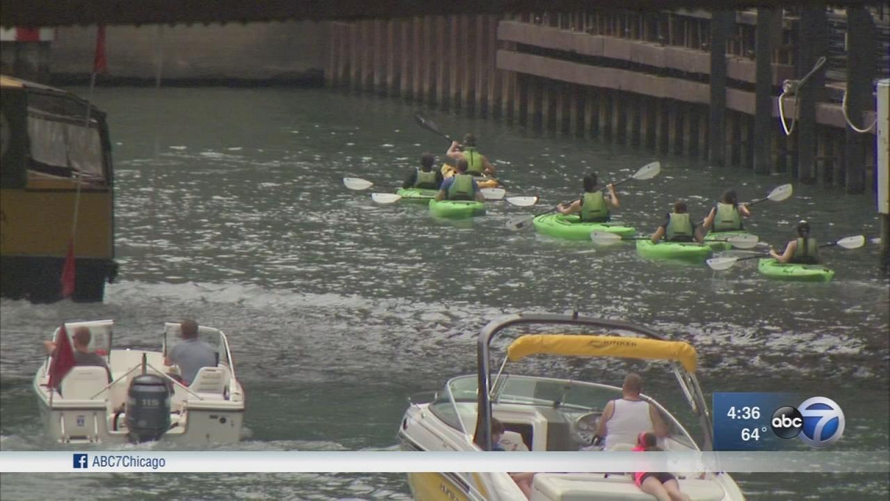 Growing traffic on Chicago River raises safety concerns