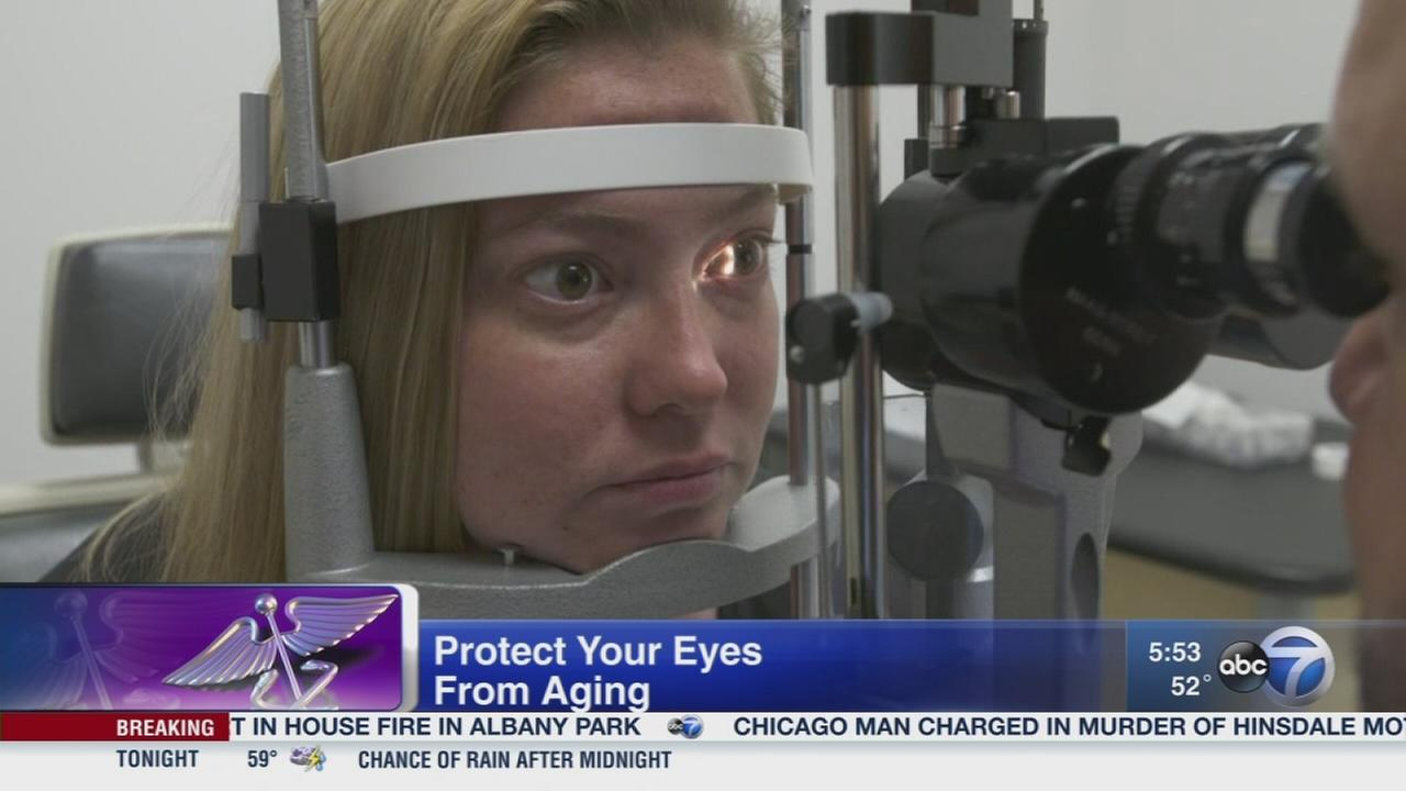 Ways to protect your eyes from aging