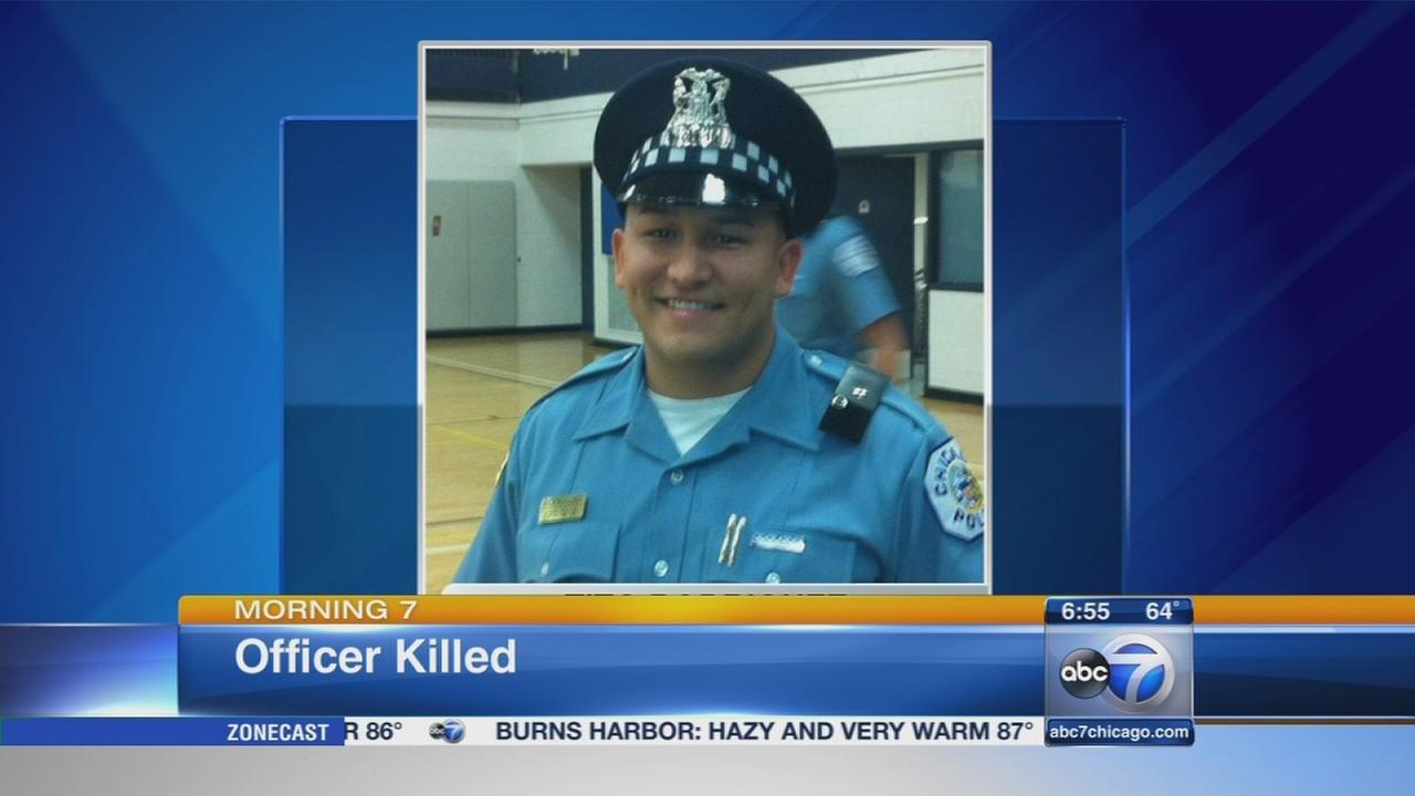 Chicago police officer killed in Dan Ryan crash