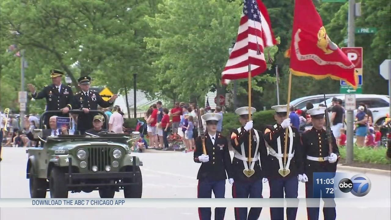 Country honors fallen on Memorial Day