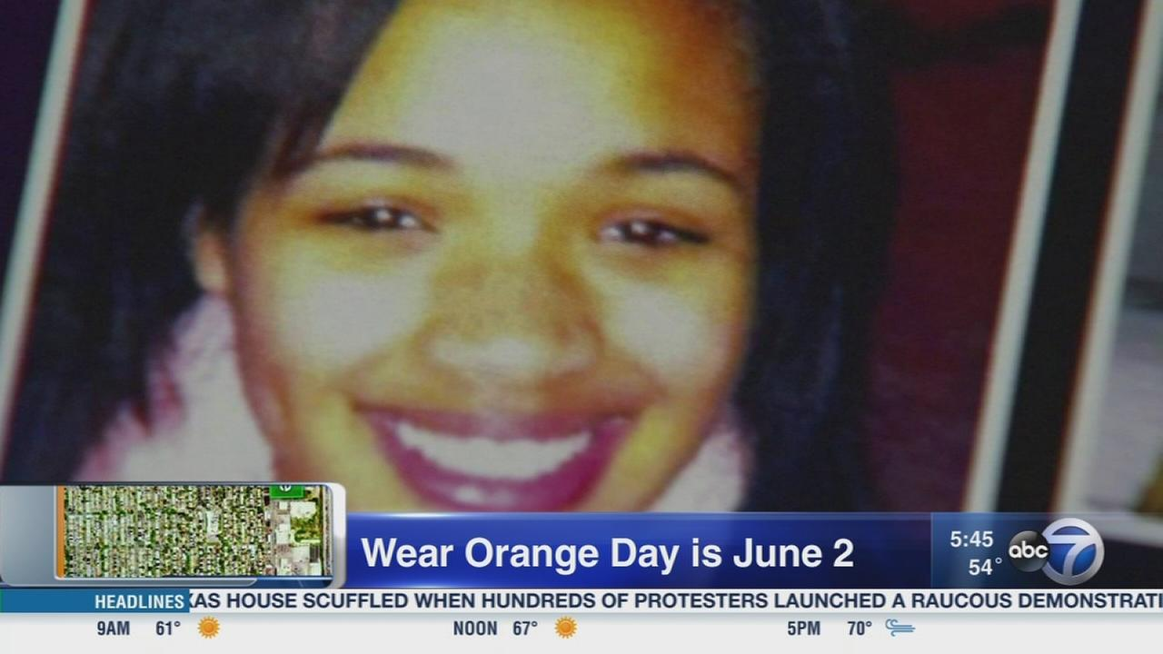 Wear orange to end gun violence