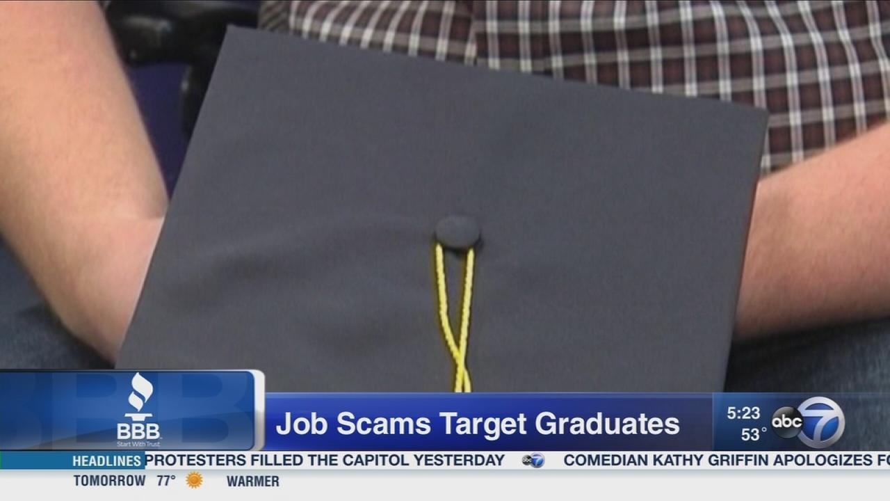 Job scammers target graduates
