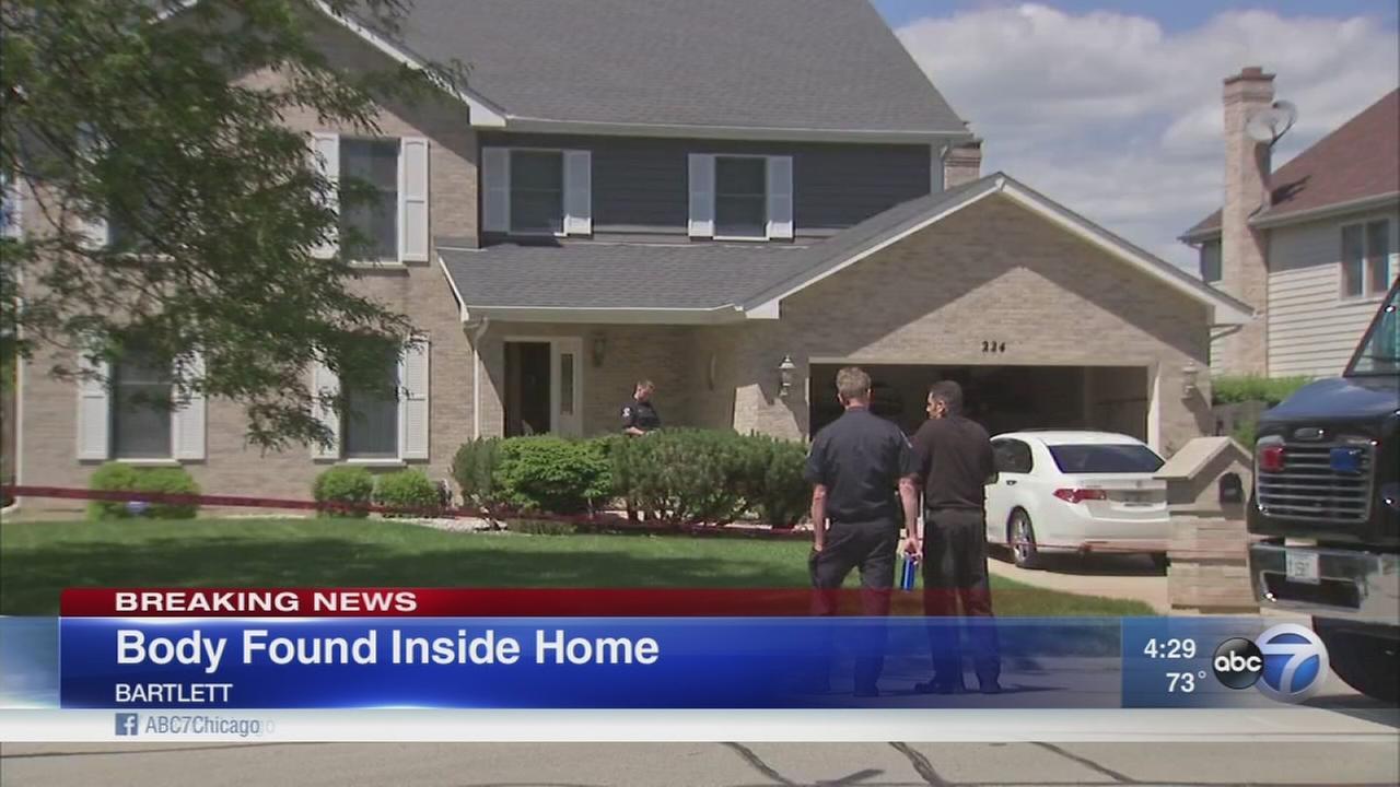 Body found in Bartlett home