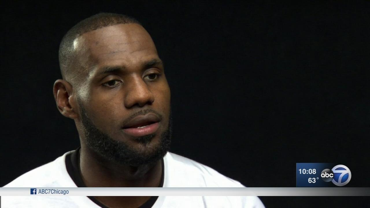 LeBron James Calif. home vandalized with racial slur