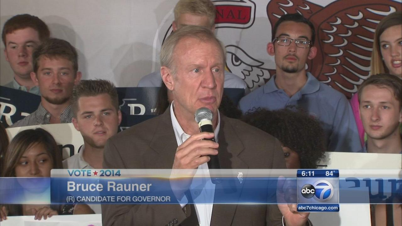 Rauner sets out term limit plan, Quinn campaign blasts his budget