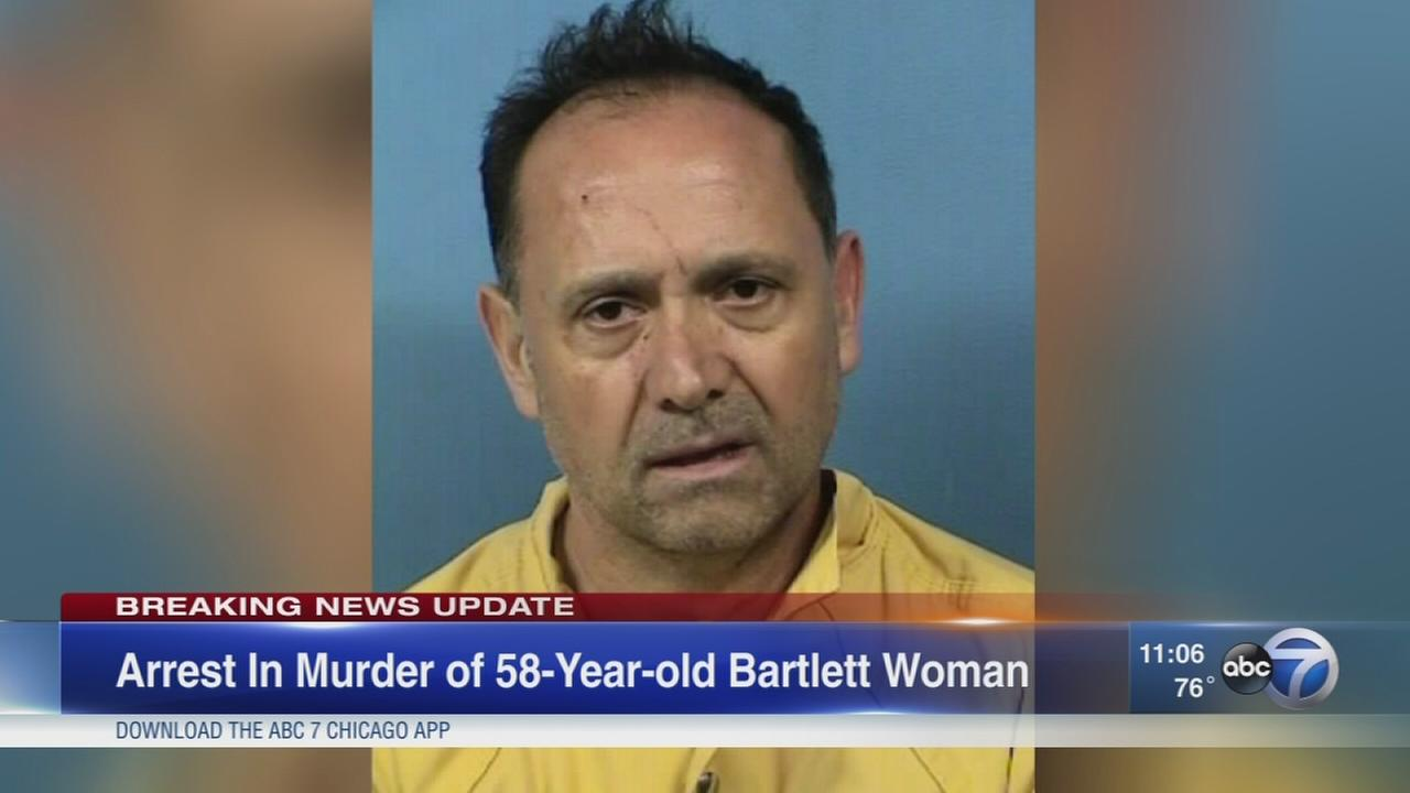 Bartlett man accused of strangling wife