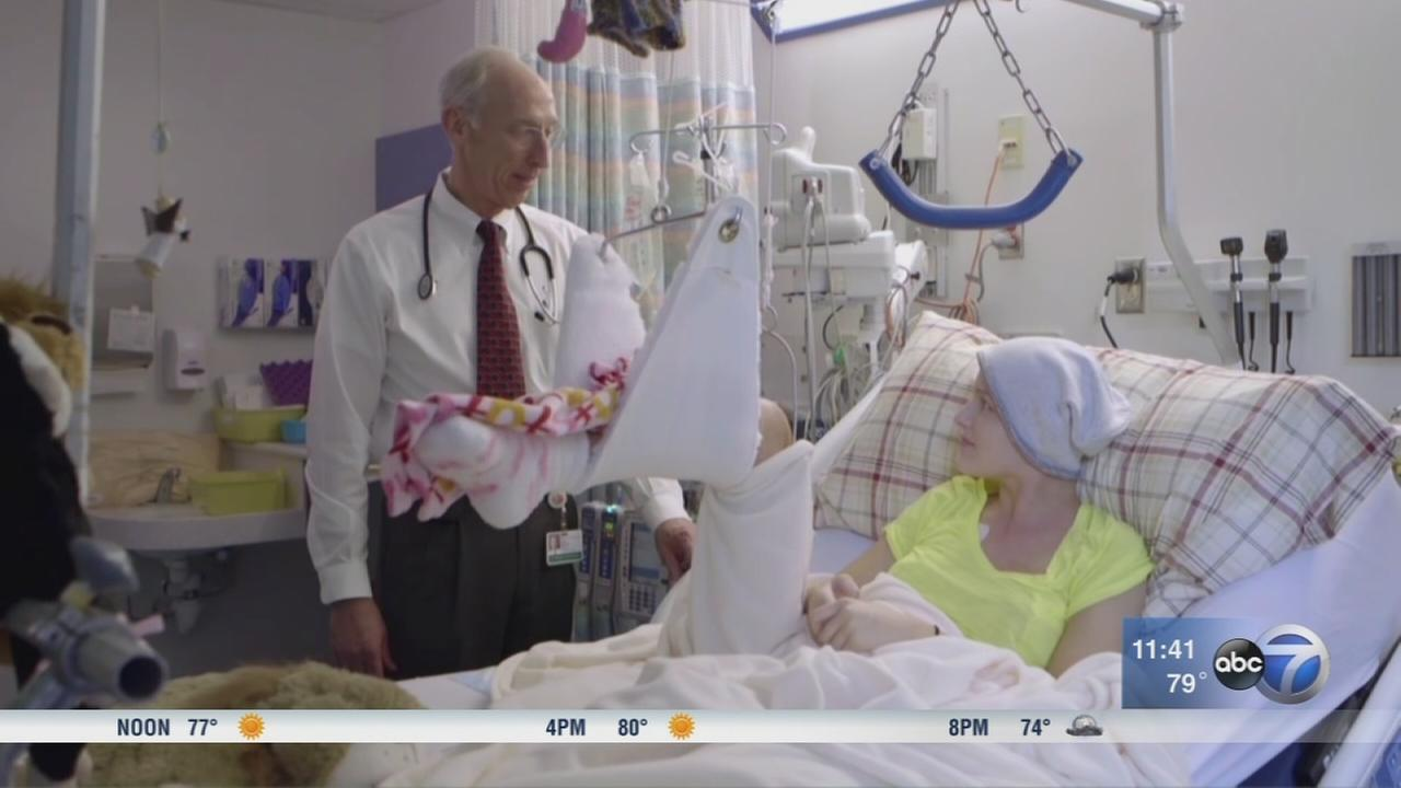 Cancer survivor talks how clinical trials helped during cancer fight