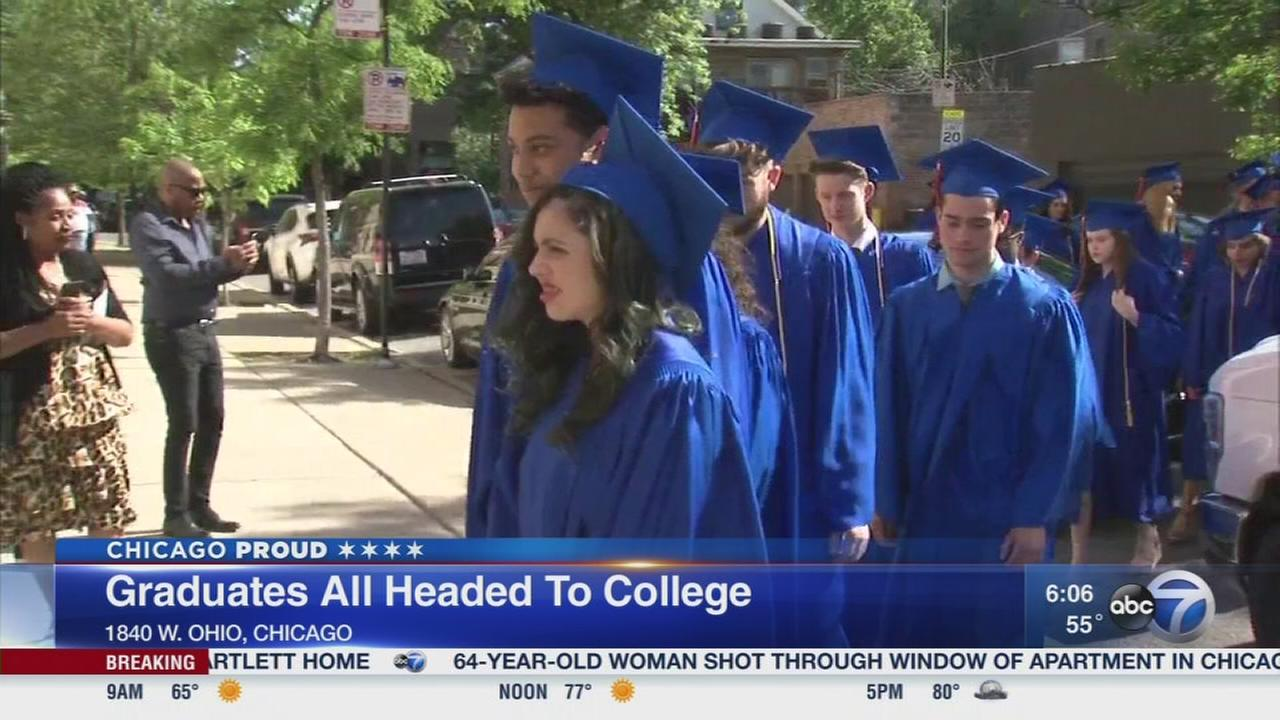 Wolcott School grads all headed to college