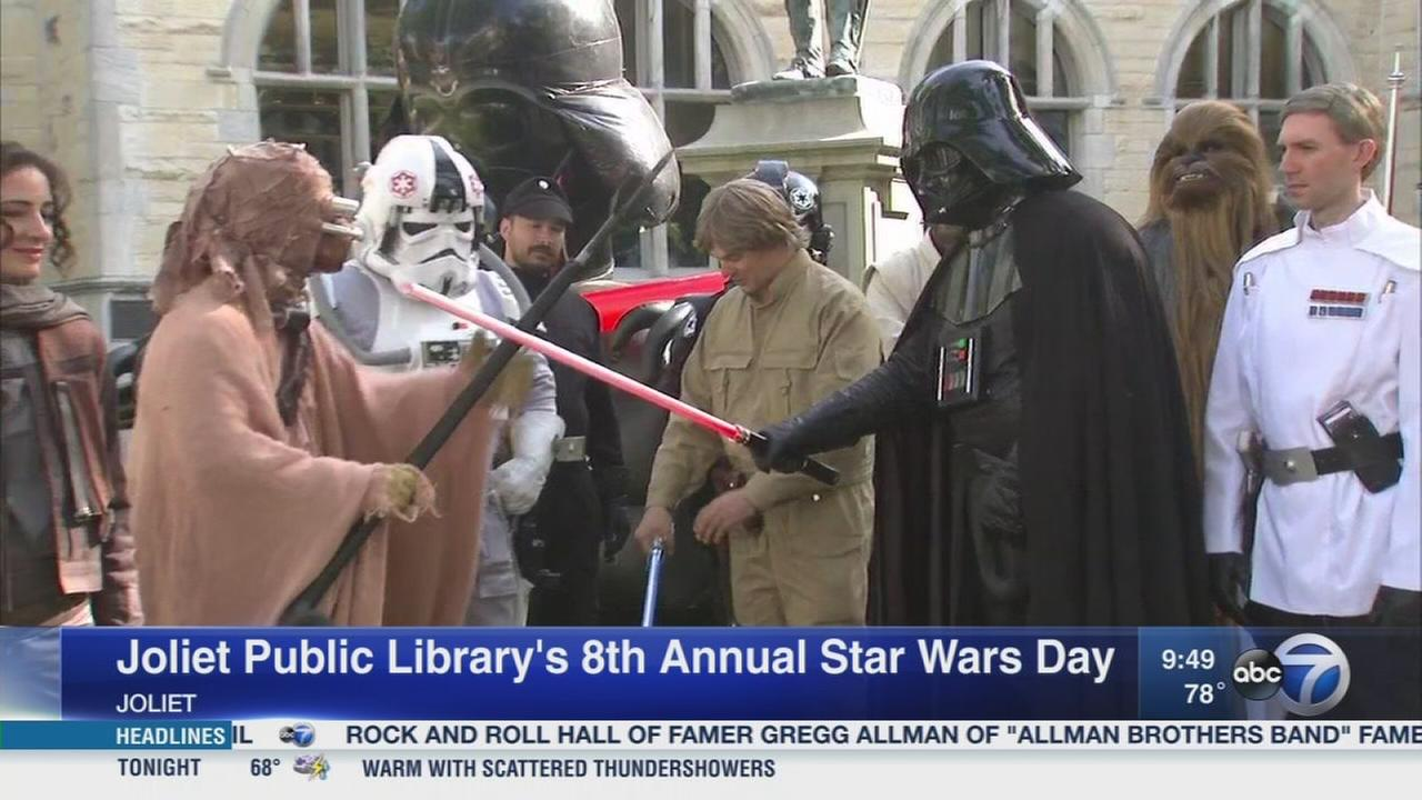Joliet Public Library hosts Star Wars Day