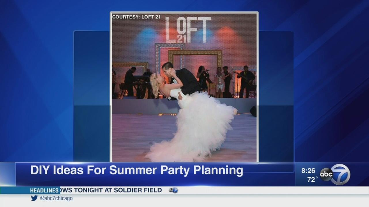 Set your summer wedding apart