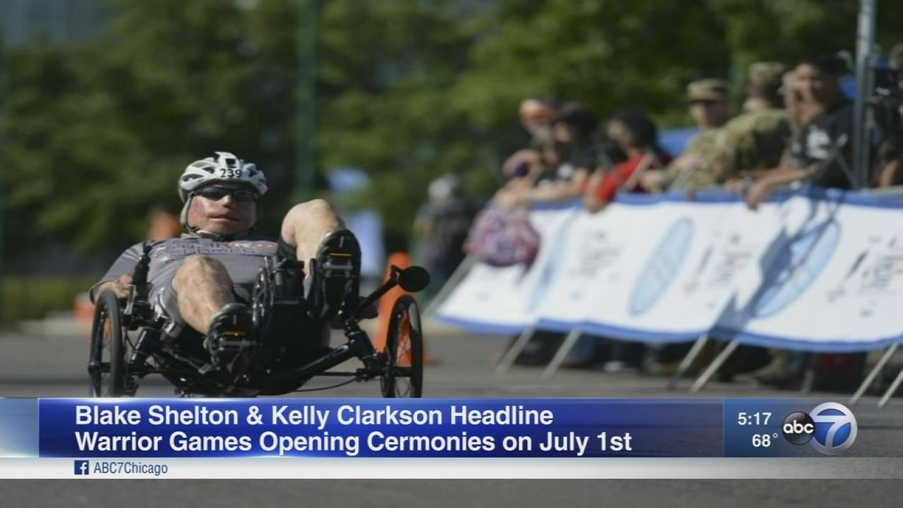 Kelly Clarkson and Blake Shelton headline Warrior Games