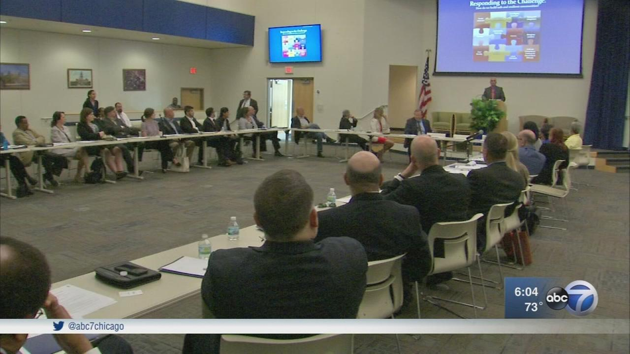 Law enforcement, religious and community groups meet on terrorism