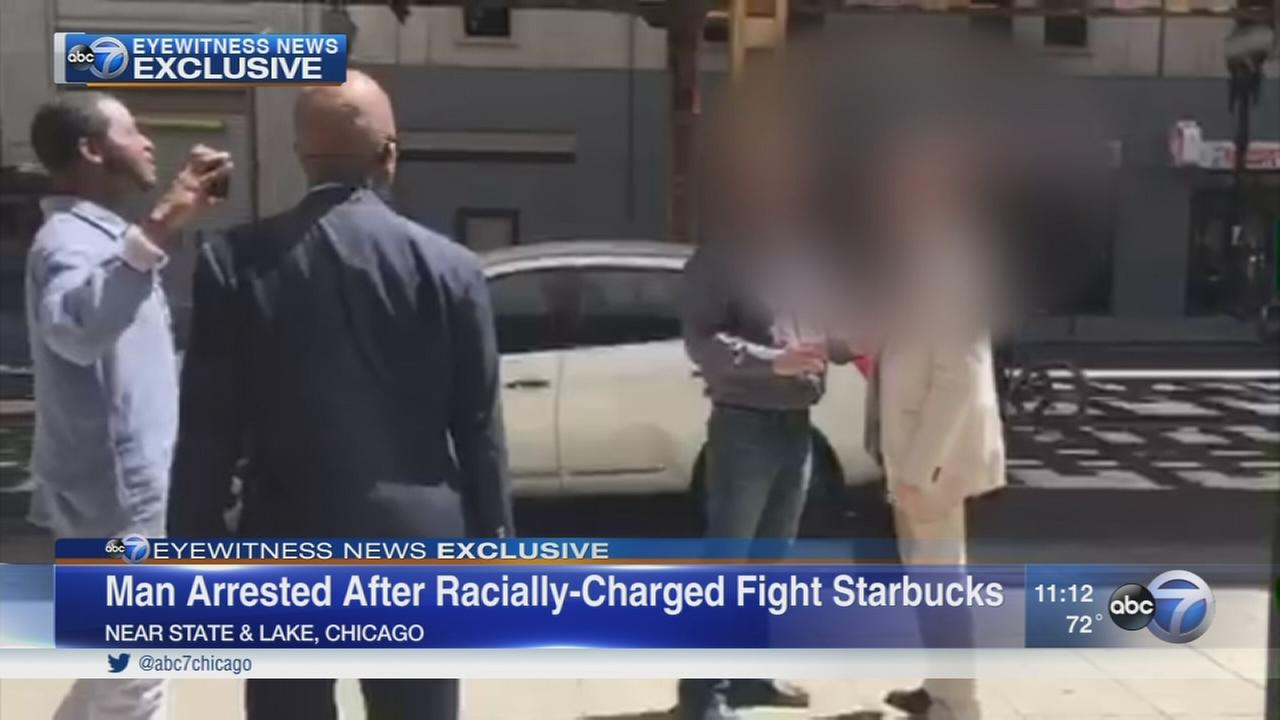 Man charged in fight outside Starbucks in Loop