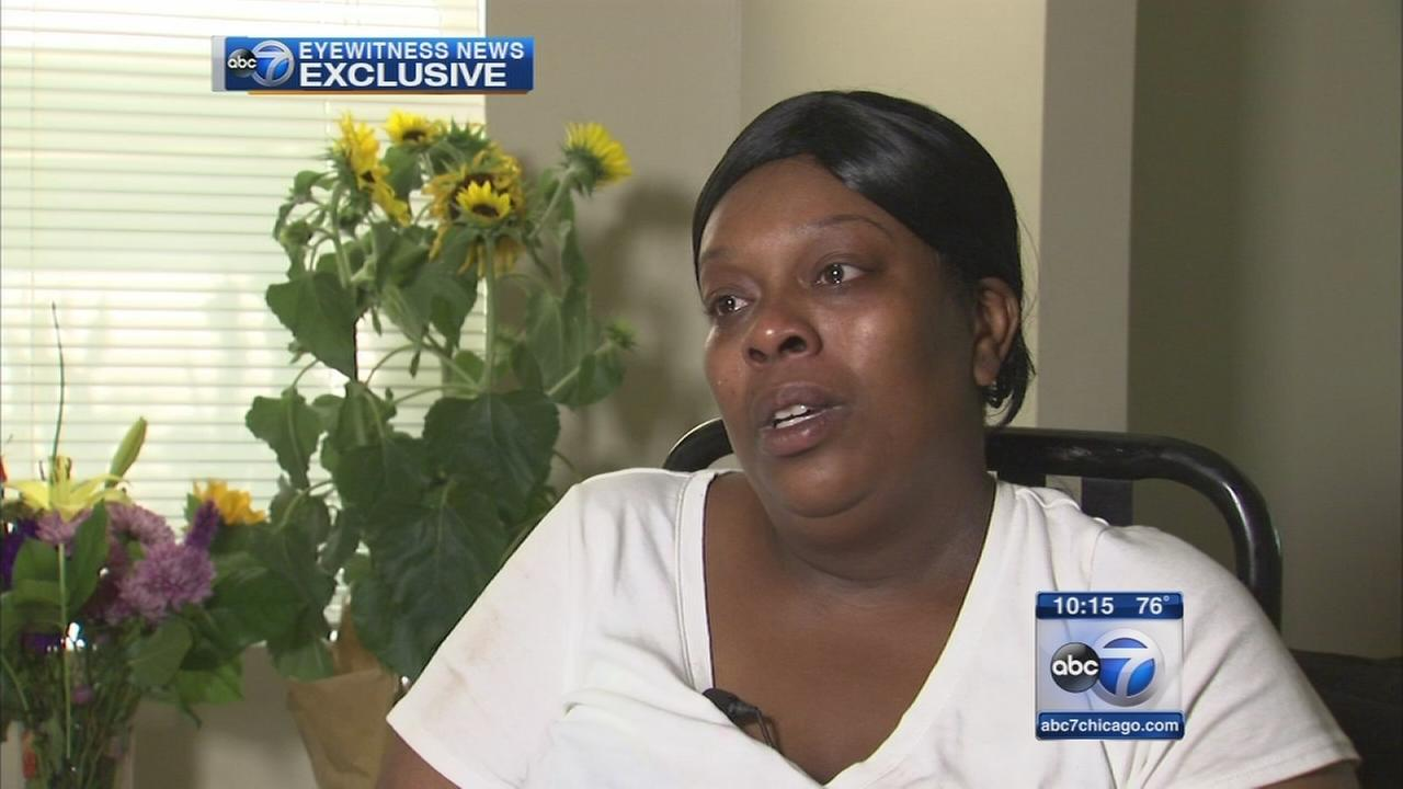 Young shooting victims mother speaks out