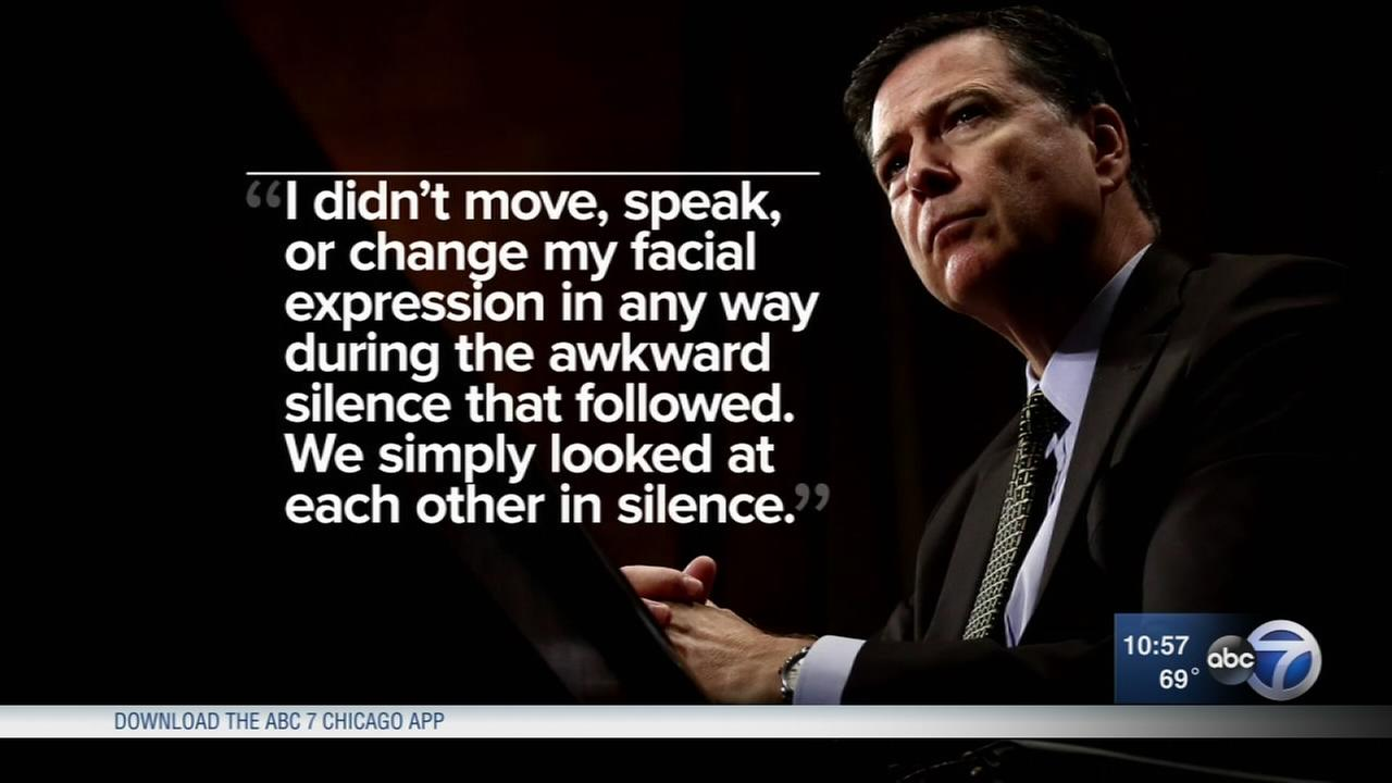 Comey to Congress: President Trump told him I need loyalty
