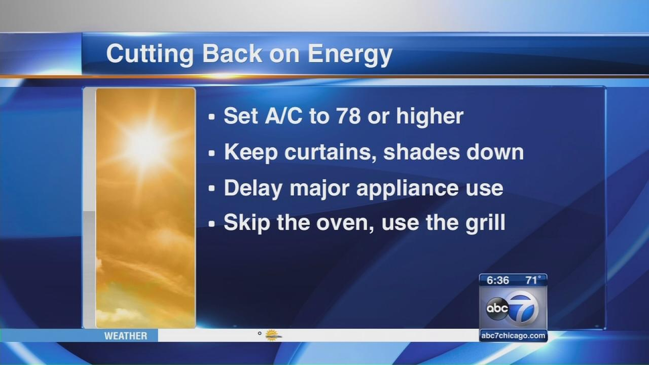 Naperville residents asked to cut back on energy use
