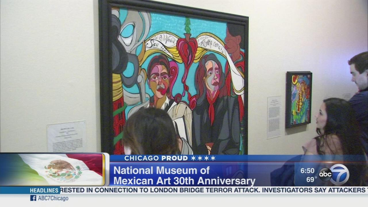 .  National Museum of Mexican Art celebrates 30th anniversary