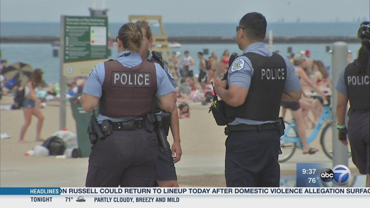 City gearing up for big crowds during hot weekend