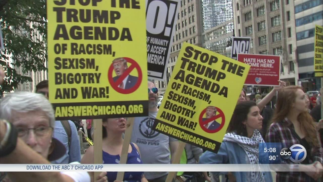 Rally against Islamic law held in Chicago, nationwide
