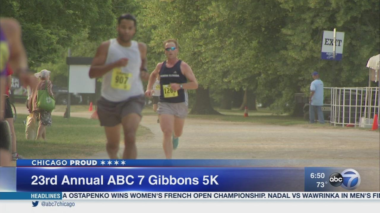 Join the ABC 7 Gibbons 5K Run and 3K Walk