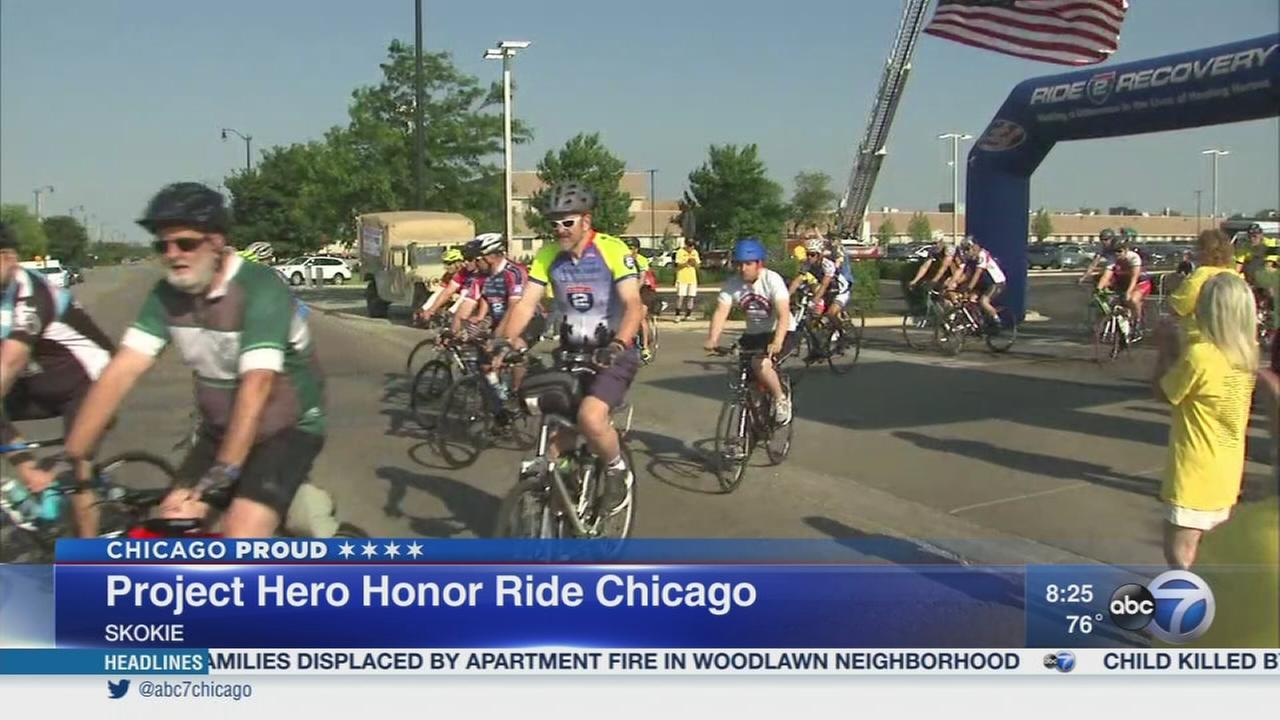Project Hero hosts Honor Ride