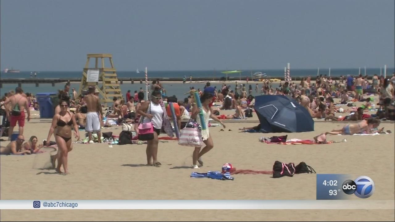 Chicago sees 90s for 3rd day in a row