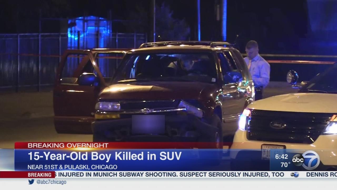 Teen fatally shot on Southwest Side