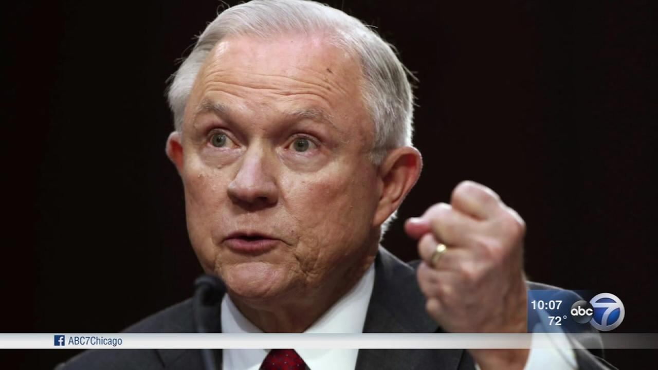 Attorney General Jeff Sessions heatedly denies improper Russia contacts