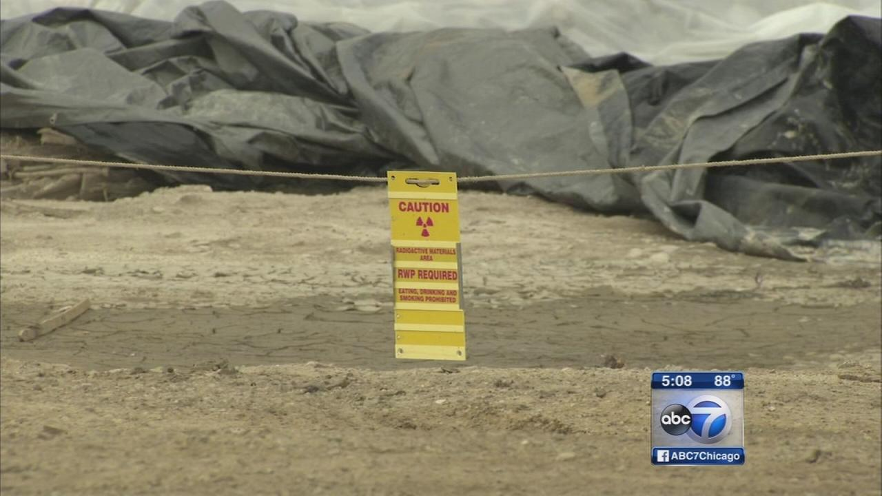 Funds needed to finish cleaning contaminated soil