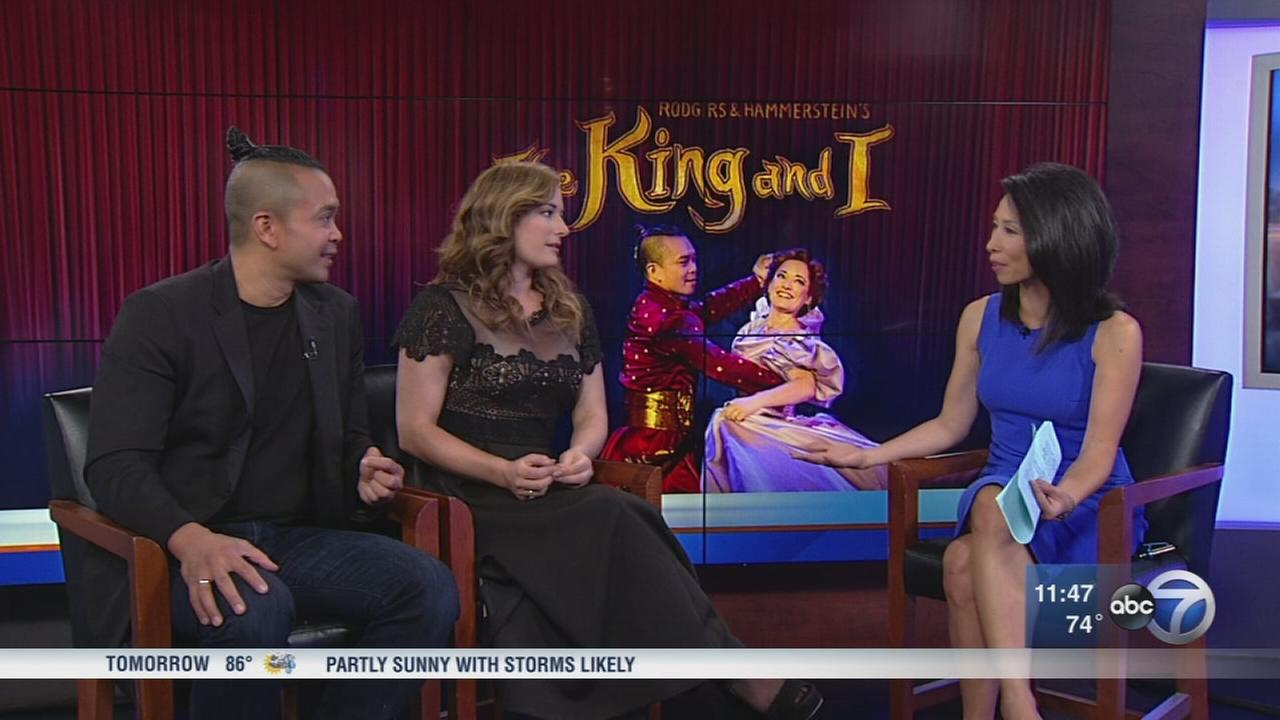 Stars of The King and I stop by ABC7