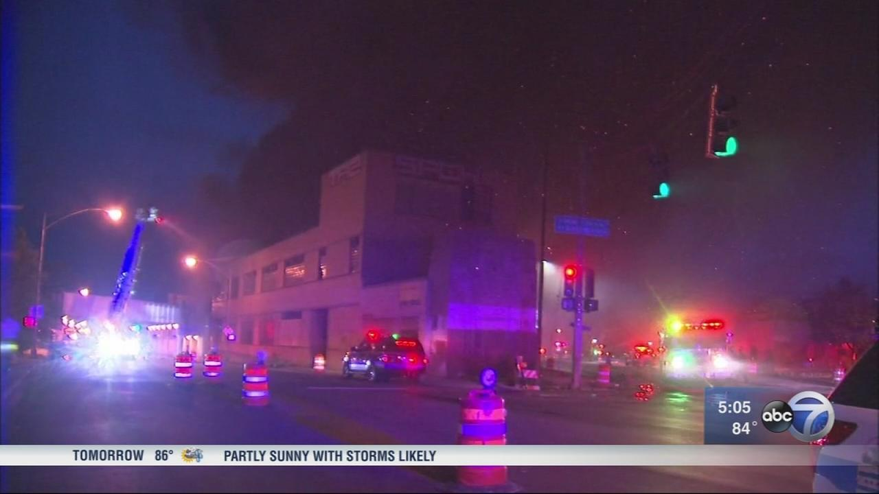 Cause of Humboldt Park warehouse fire under investigation