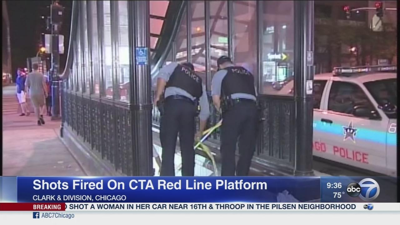 Shots fired inside CTA Red Line station