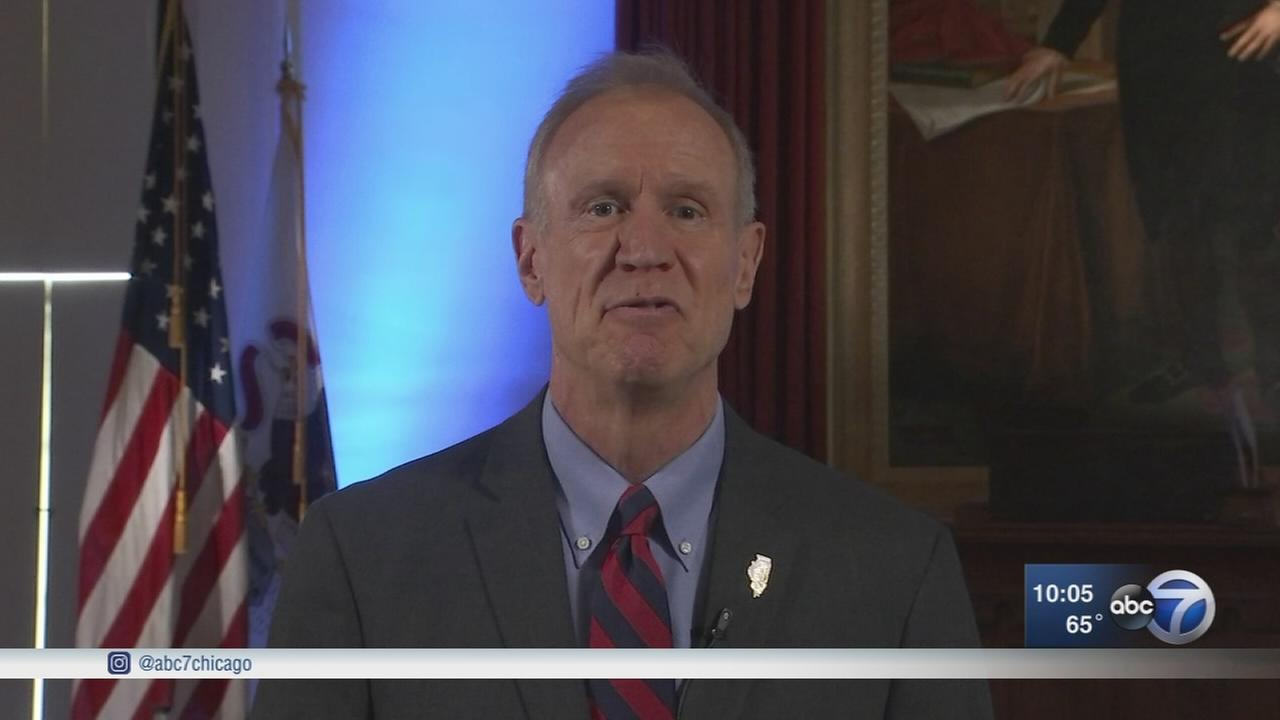 Governor Rauner gives address focused on unity, budget