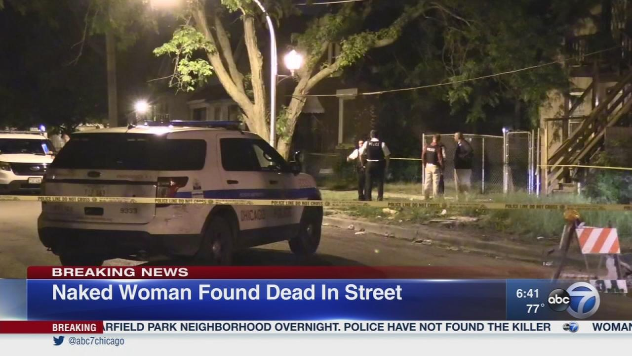 Woman found dead in East Garfield Park