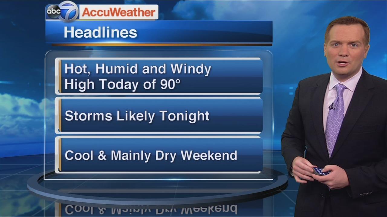 ABC7 AccuWeather Forecast
