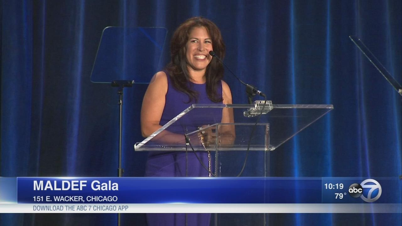 Michelle Gallardo hosts MALDF gala
