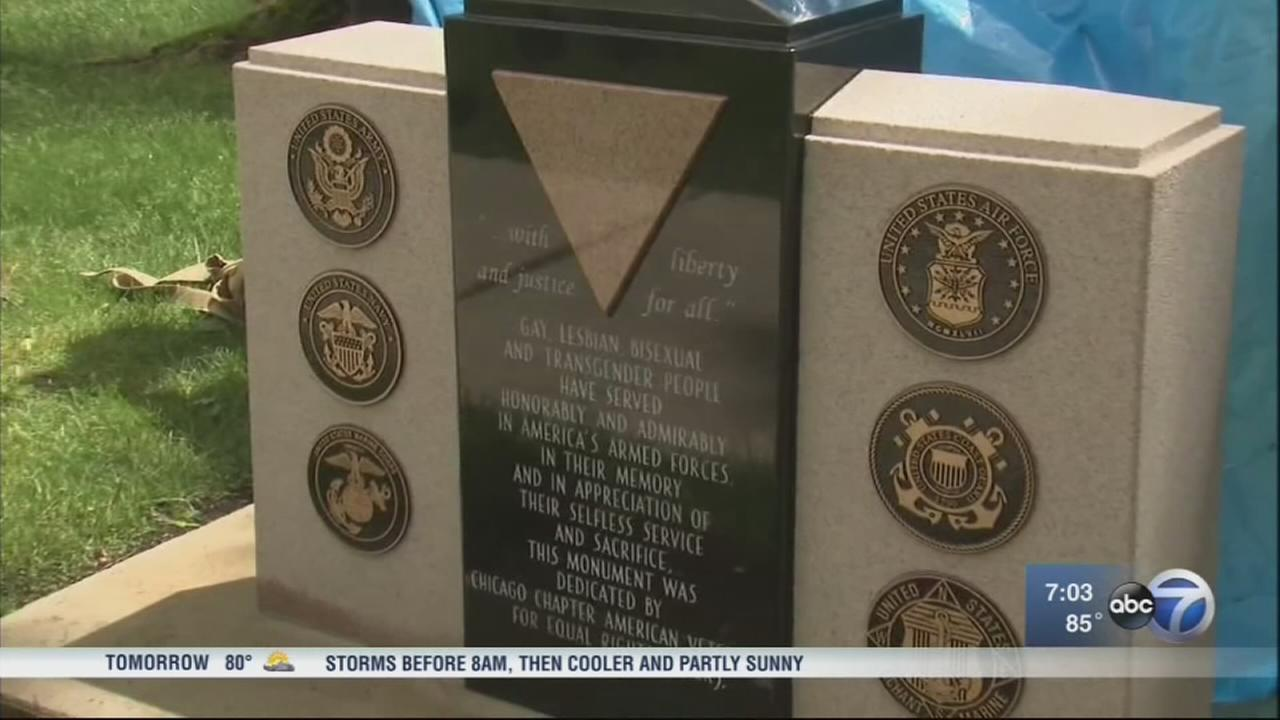Monument to LGBT veterans defaced
