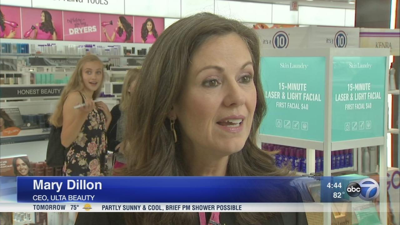 Ulta Beauty CEO oversees growing company
