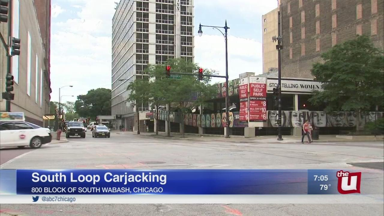 Woman carjacked in South Loop garage