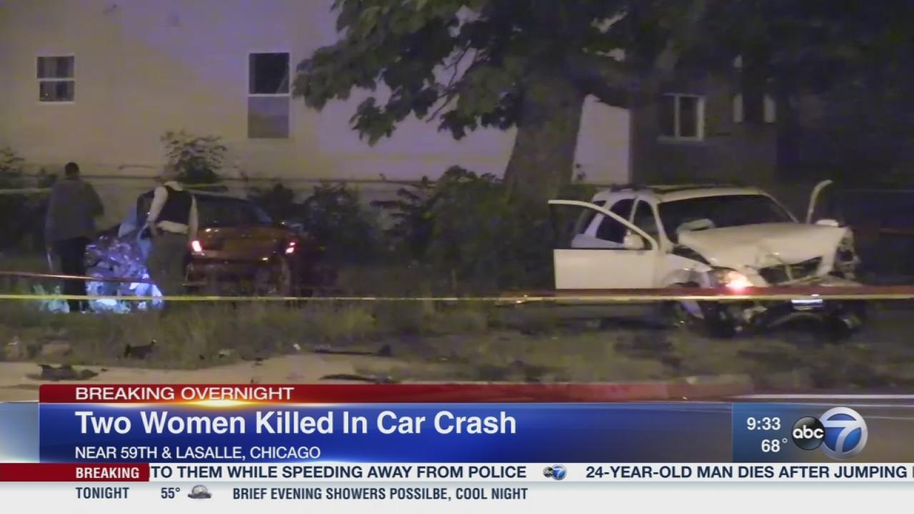 2 killed after SUV fleeing police hits another vehicle