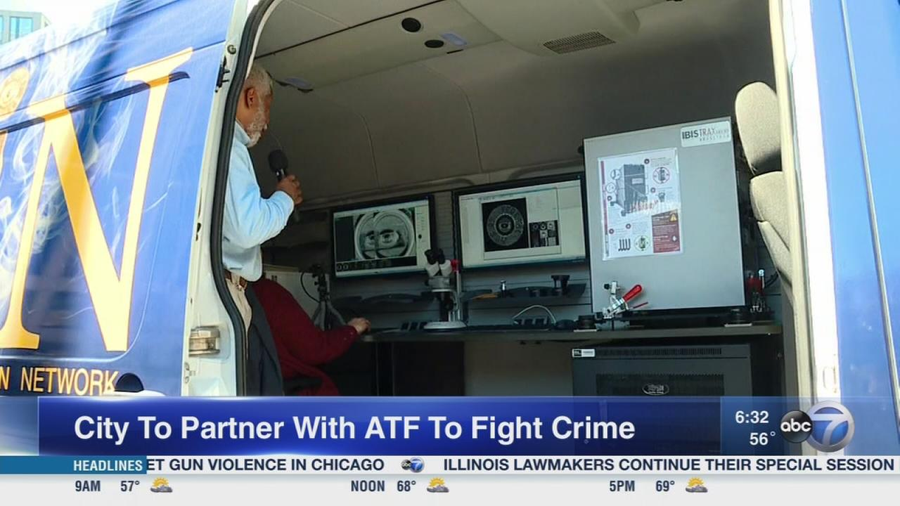 ATF ballistics van coming to Chicago to fight gun violence