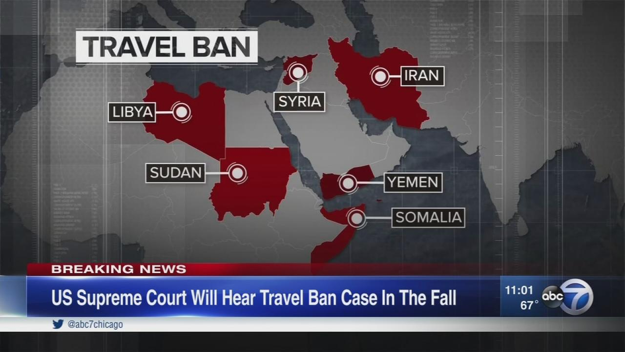 Supreme Court partly reinstates Trump travel ban
