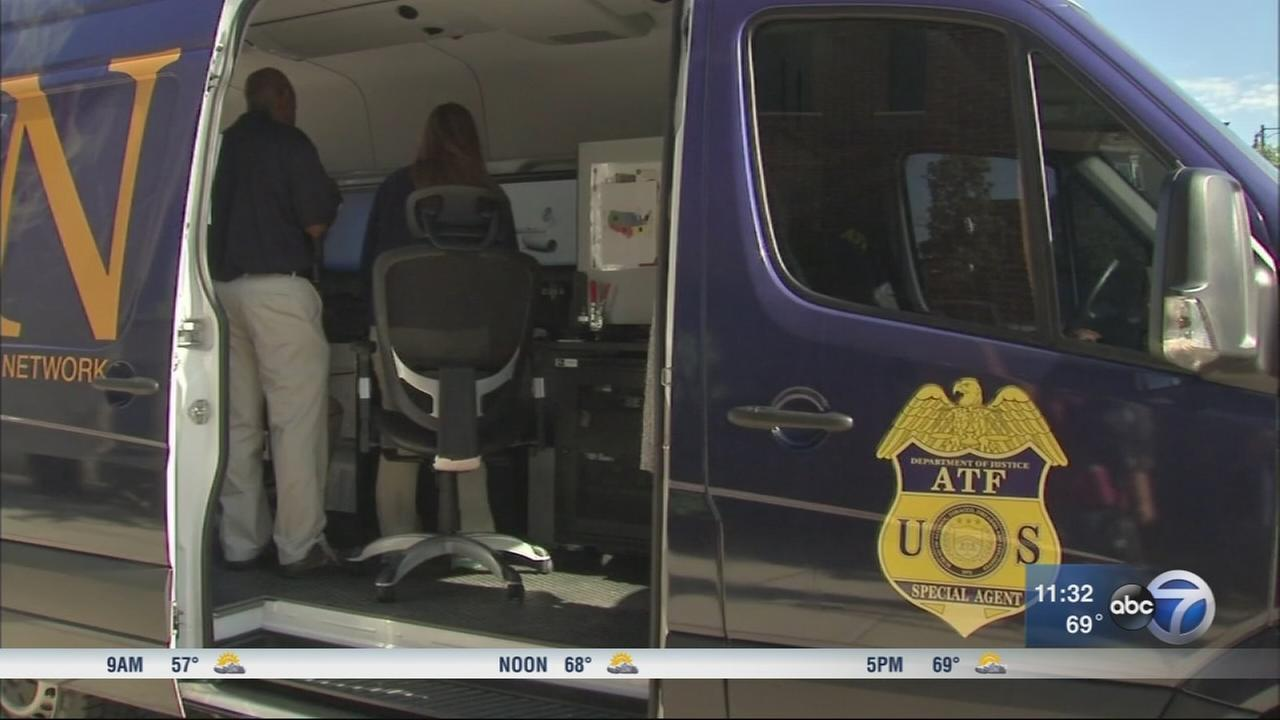 ATF ballistics van now in Chicago