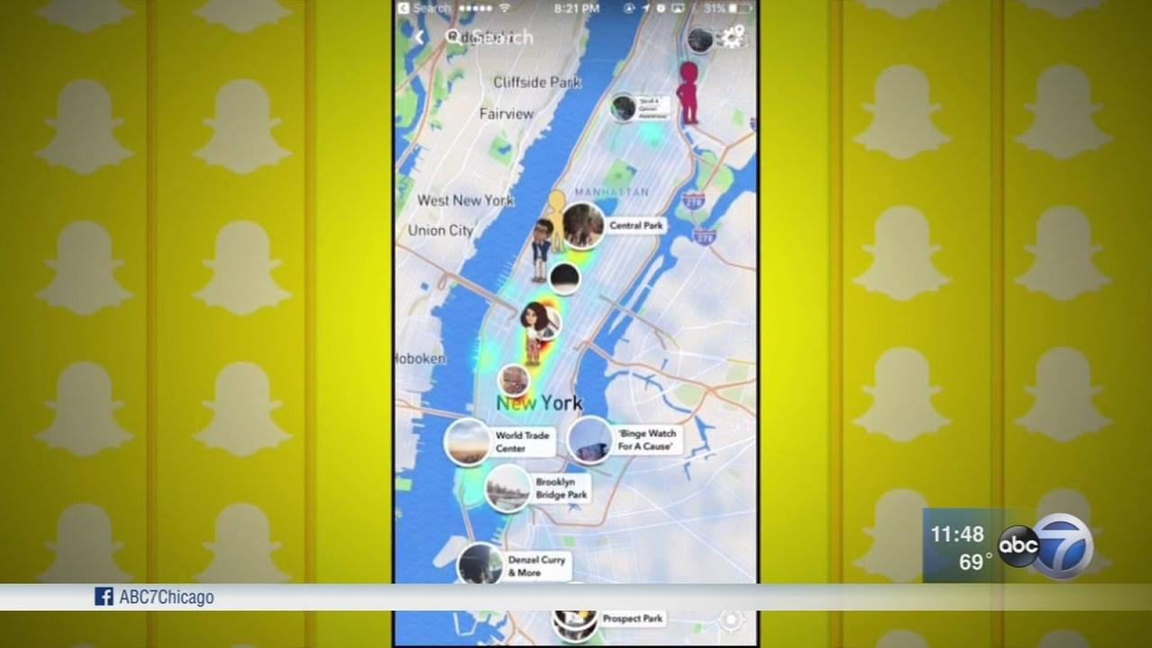 Snap Map: Snapchats new feature raises privacy concerns