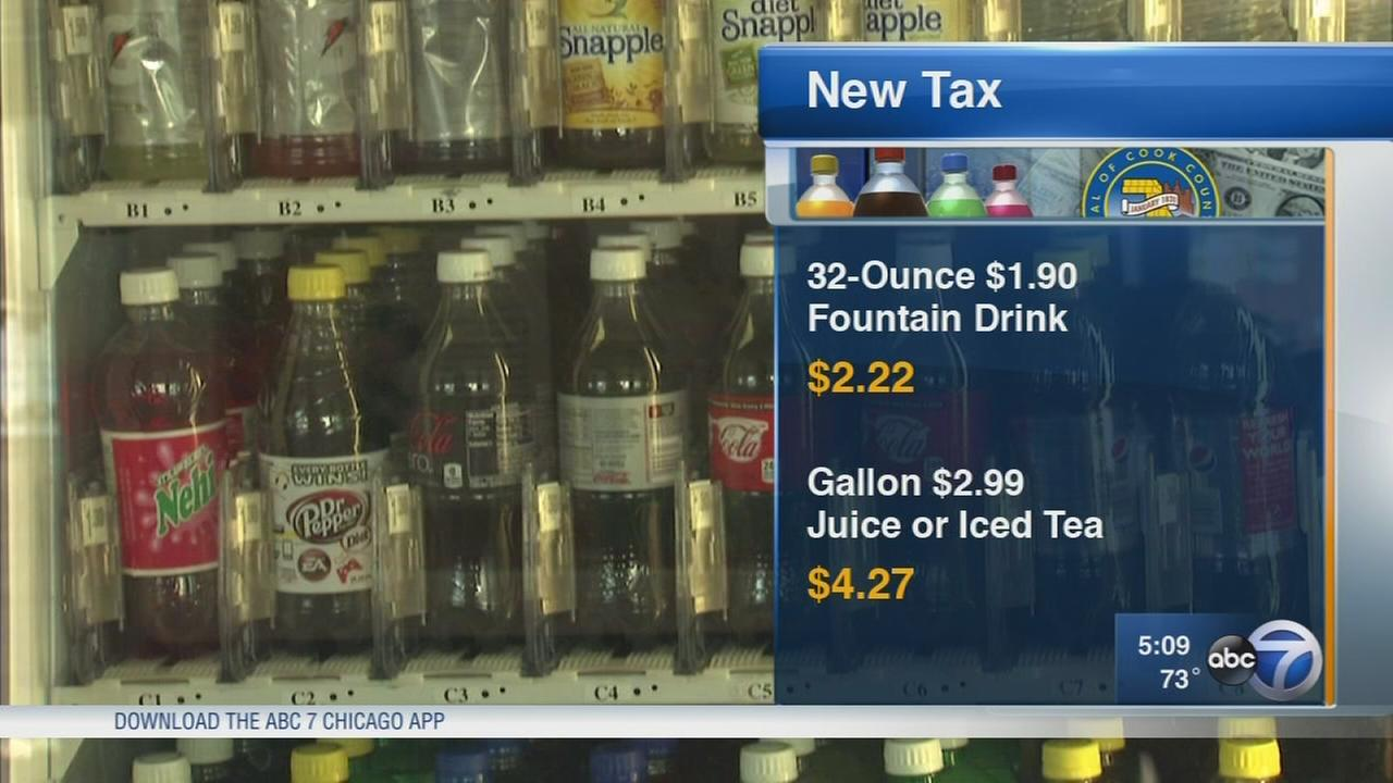 Cook County?s new tax on soda, sugary drinks starts July 1