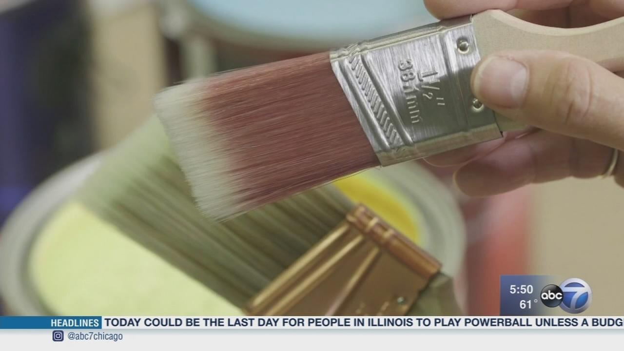 Consumer Reports: Picking the right paintbrush