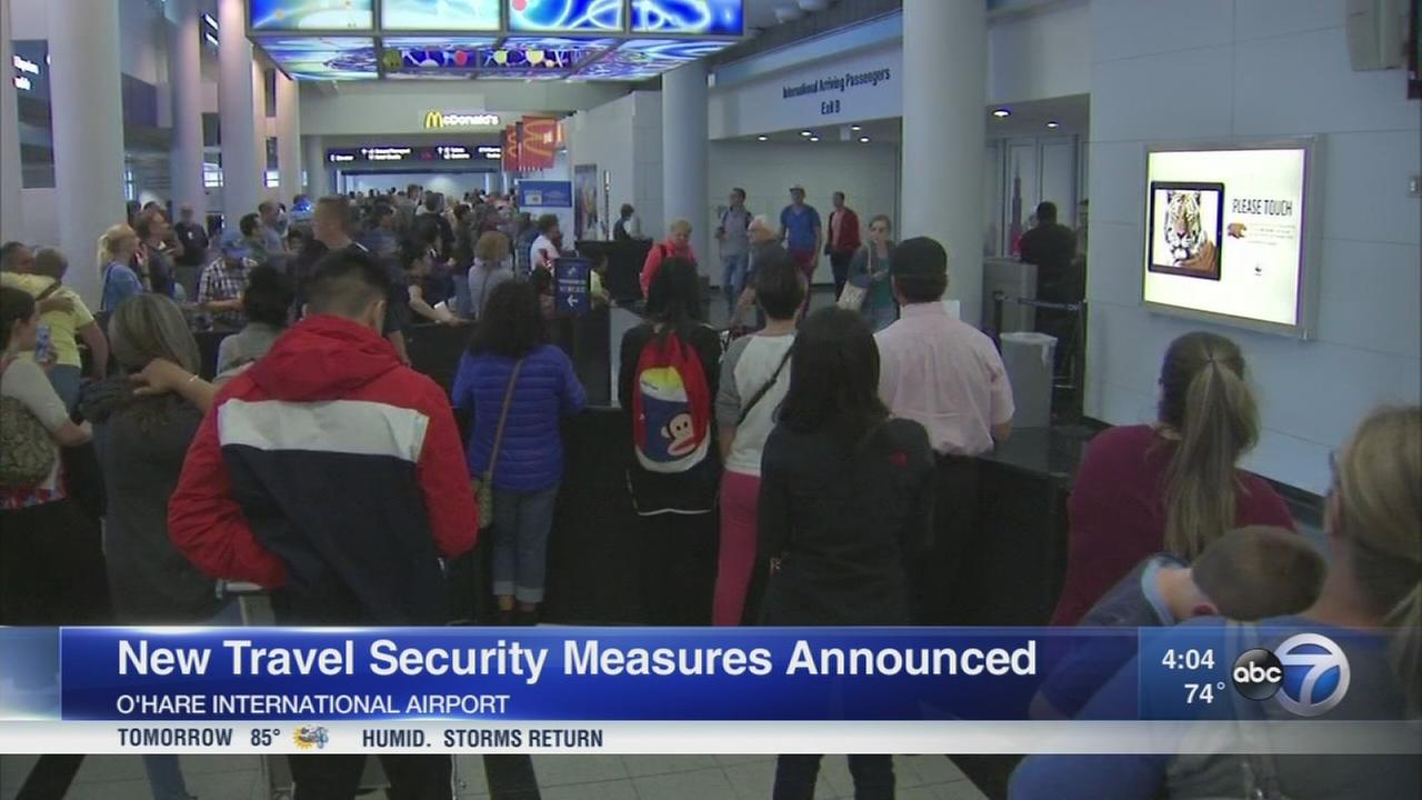 US demands more security on international flights to US
