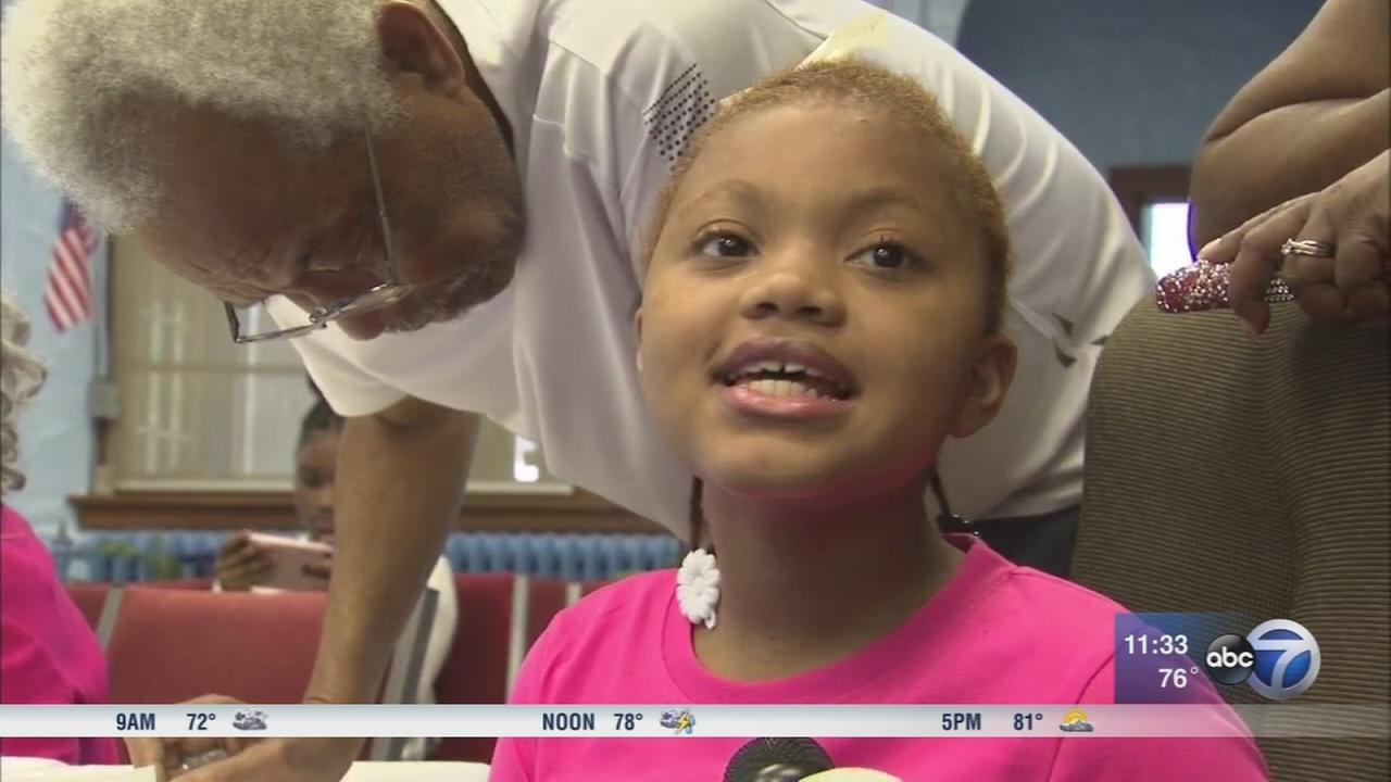 Breakfast raises money for 2 children shot in Gary